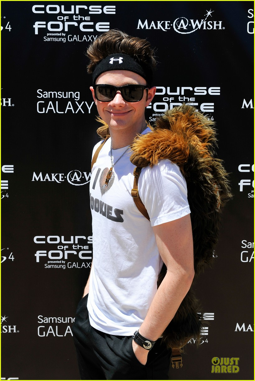 chris colfer alyson hannigan course of the force relay 09