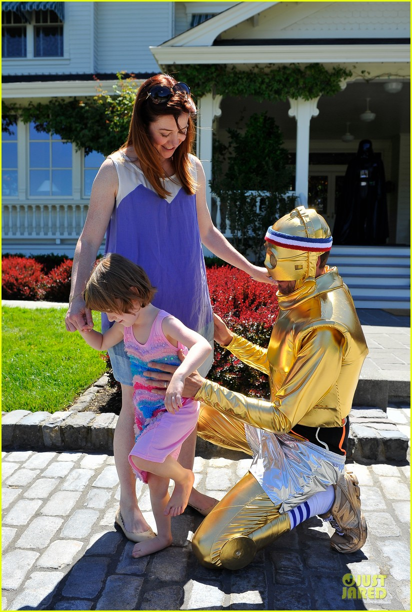 chris colfer alyson hannigan course of the force relay 17