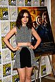 lily collins jamie bower campbell city of bones at comic con 07
