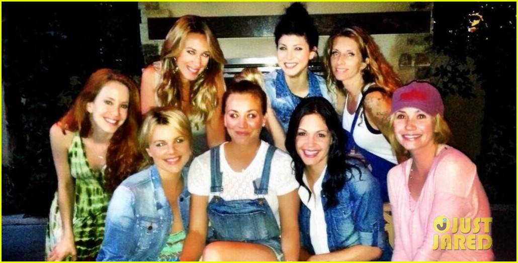 kaley cuoco dream come true meets the bachelorettes 04