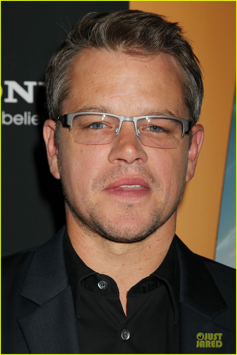 matt damon kellan lutz elysium nyc screening 02