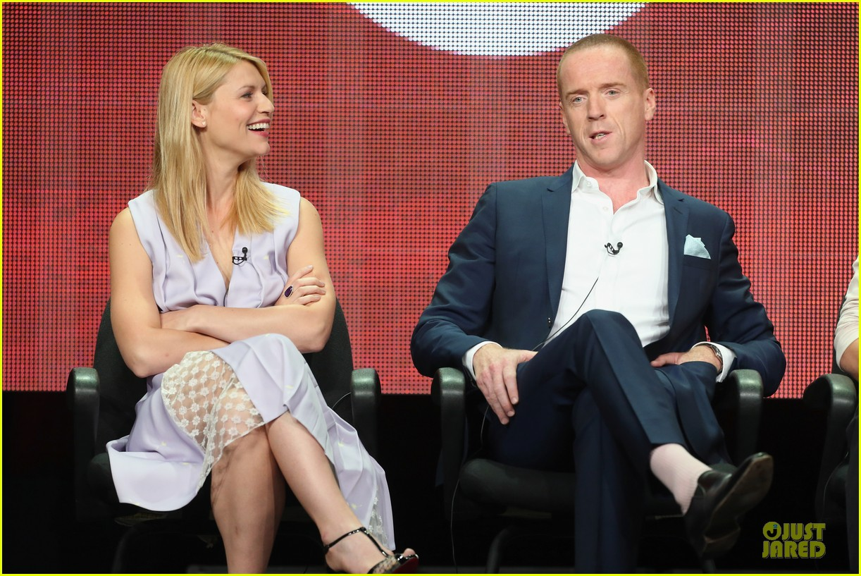 claire danes damian lewis homeland at showtime summer tca tour 16