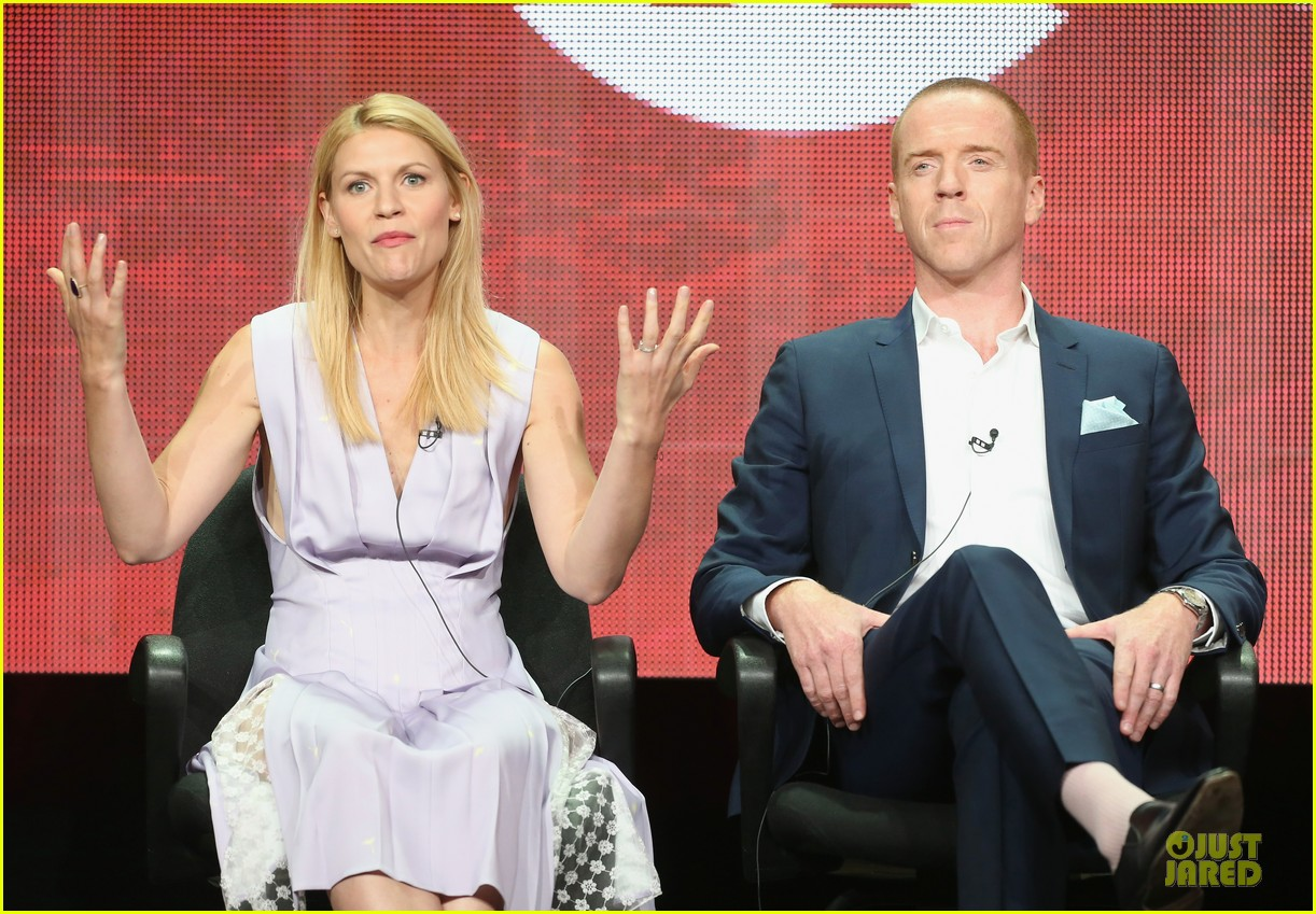 claire danes damian lewis homeland at showtime summer tca tour 23
