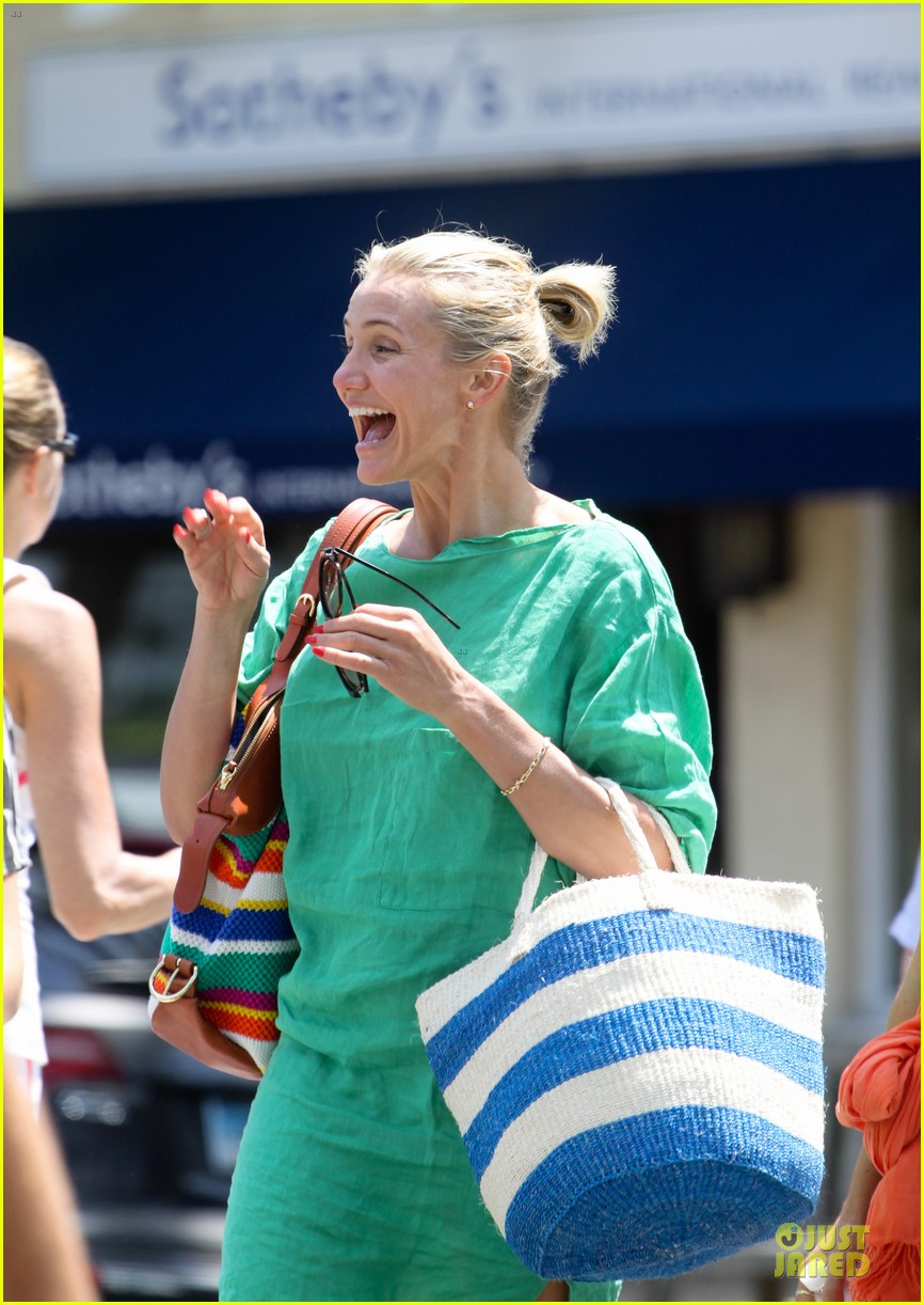 cameron diaz hamptons natural beauty queen 022906219
