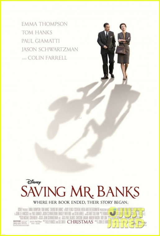 colin farrell first saving mr banks poster revealed 03