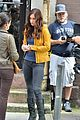 megan fox practices jounalism skills on teenage turtles set 03