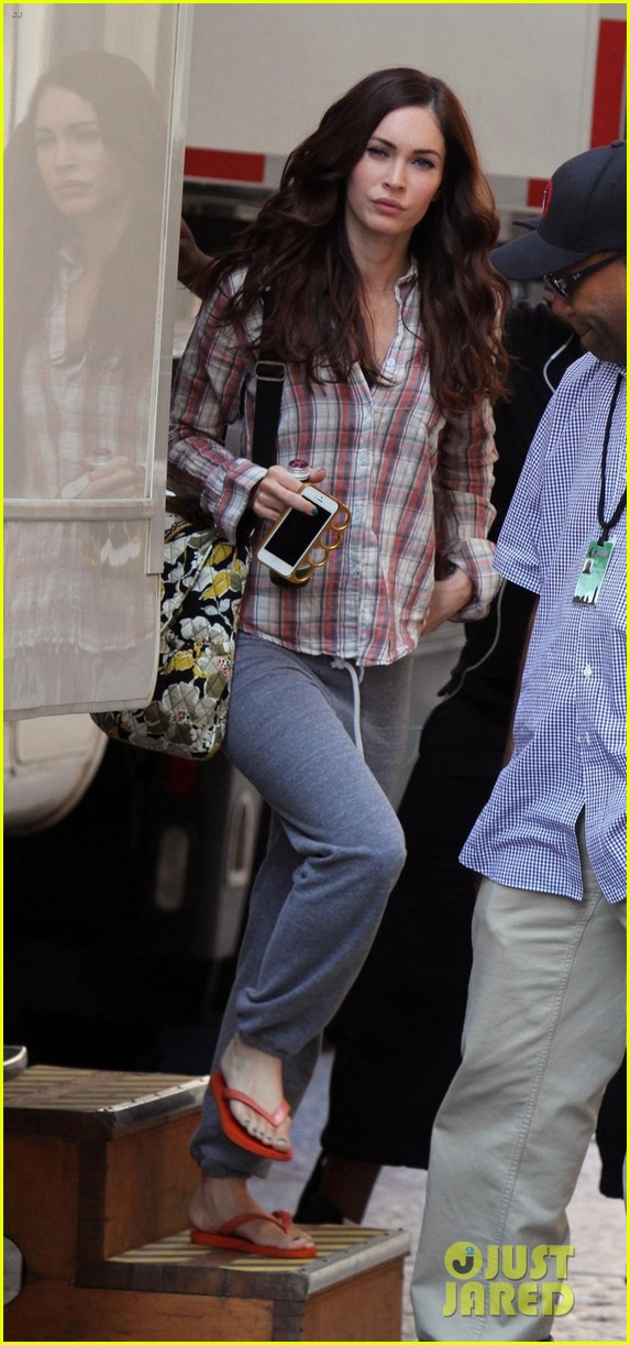 megan fox teenage mutant ninja turtles in tribeca 022911989