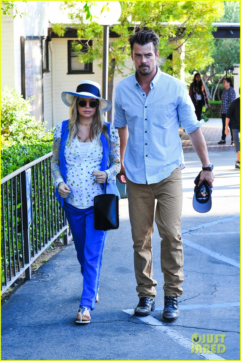 fergie josh duhamel go to church before baby shower day 172919791