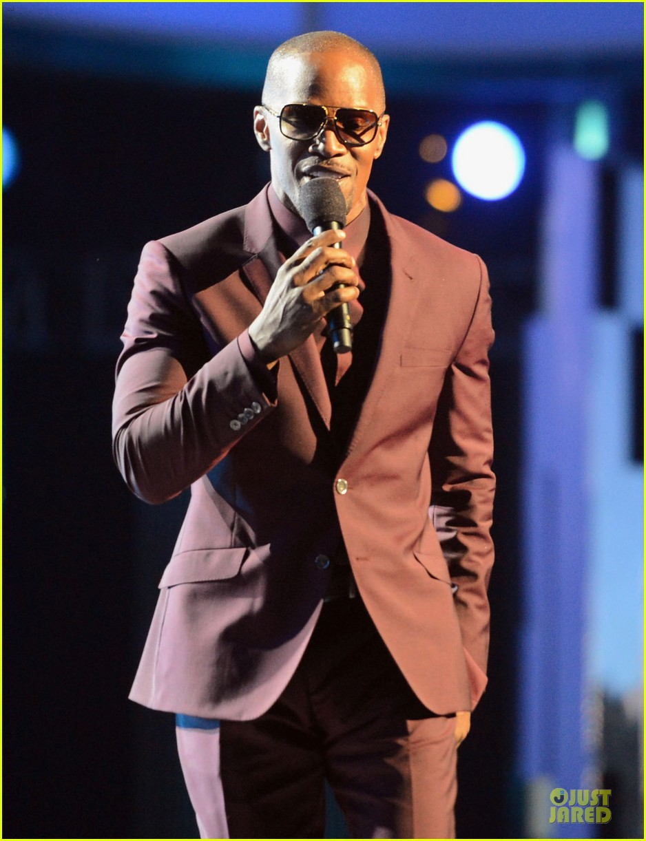 jamie foxx taraji p henson bet awards 2013 show 20