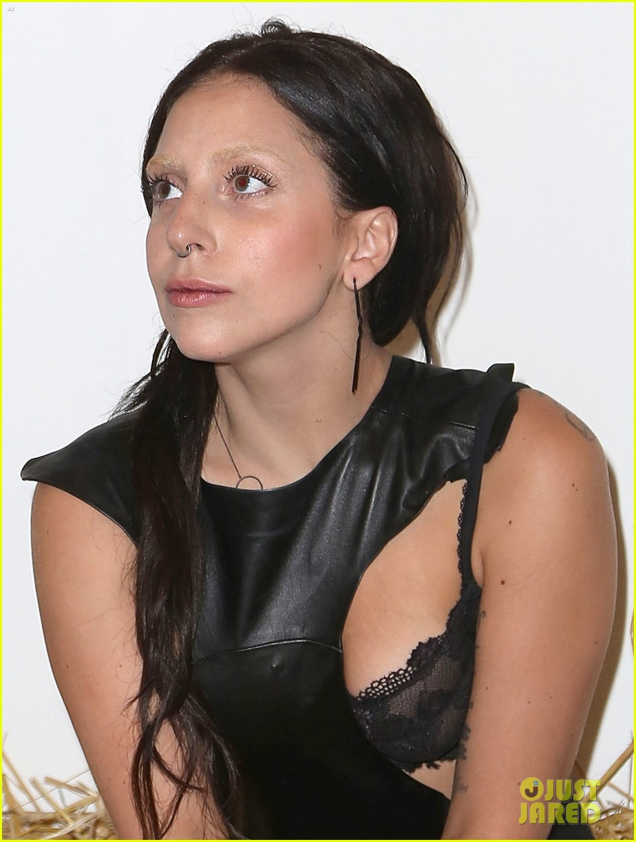 lady gaga wears nose ring to watermill center benefit 012918401