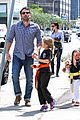 jennifer garner ben affleck take the girls to karate 09