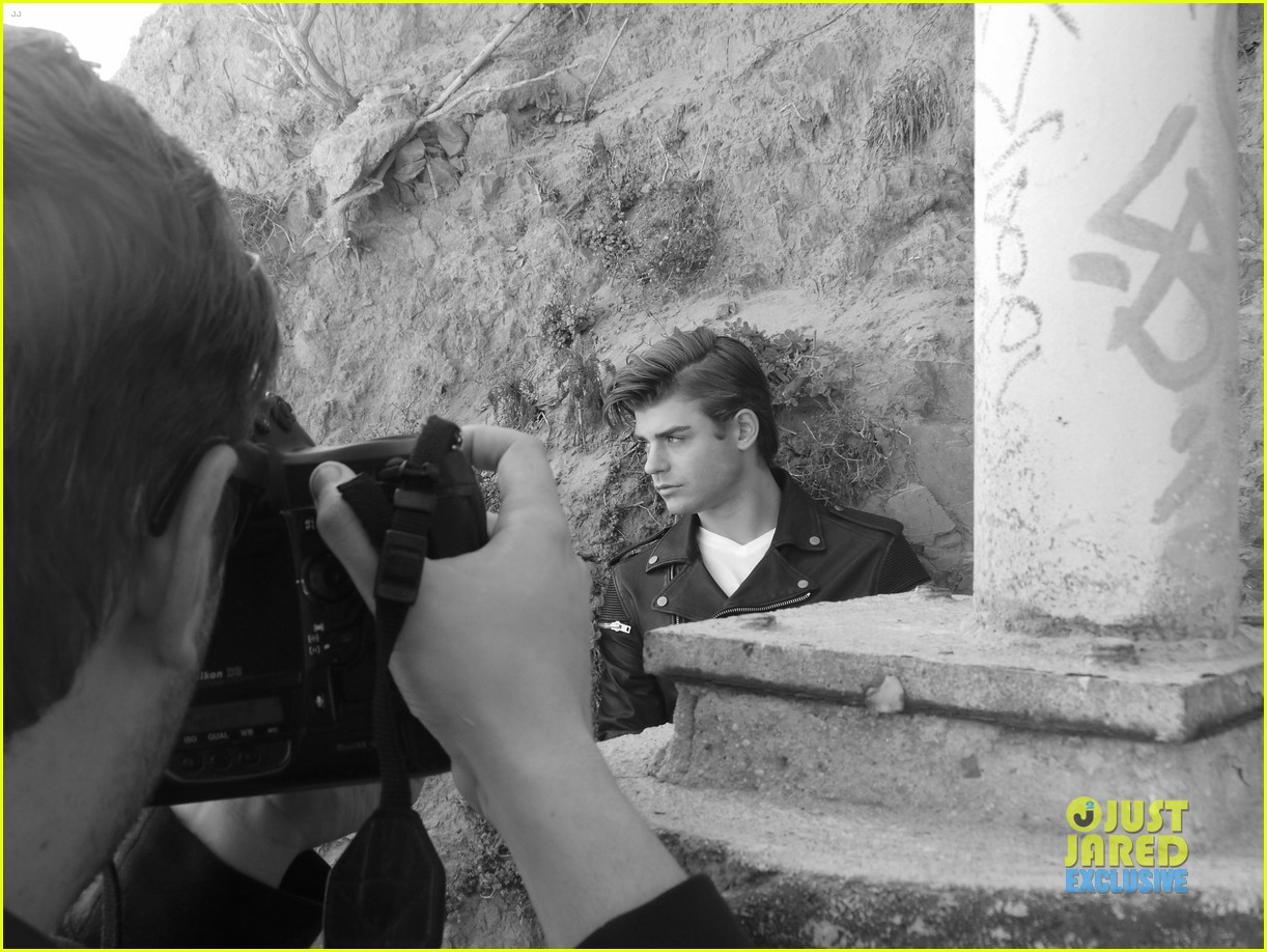 garrett clayton jj spotlight behind the scenes 05