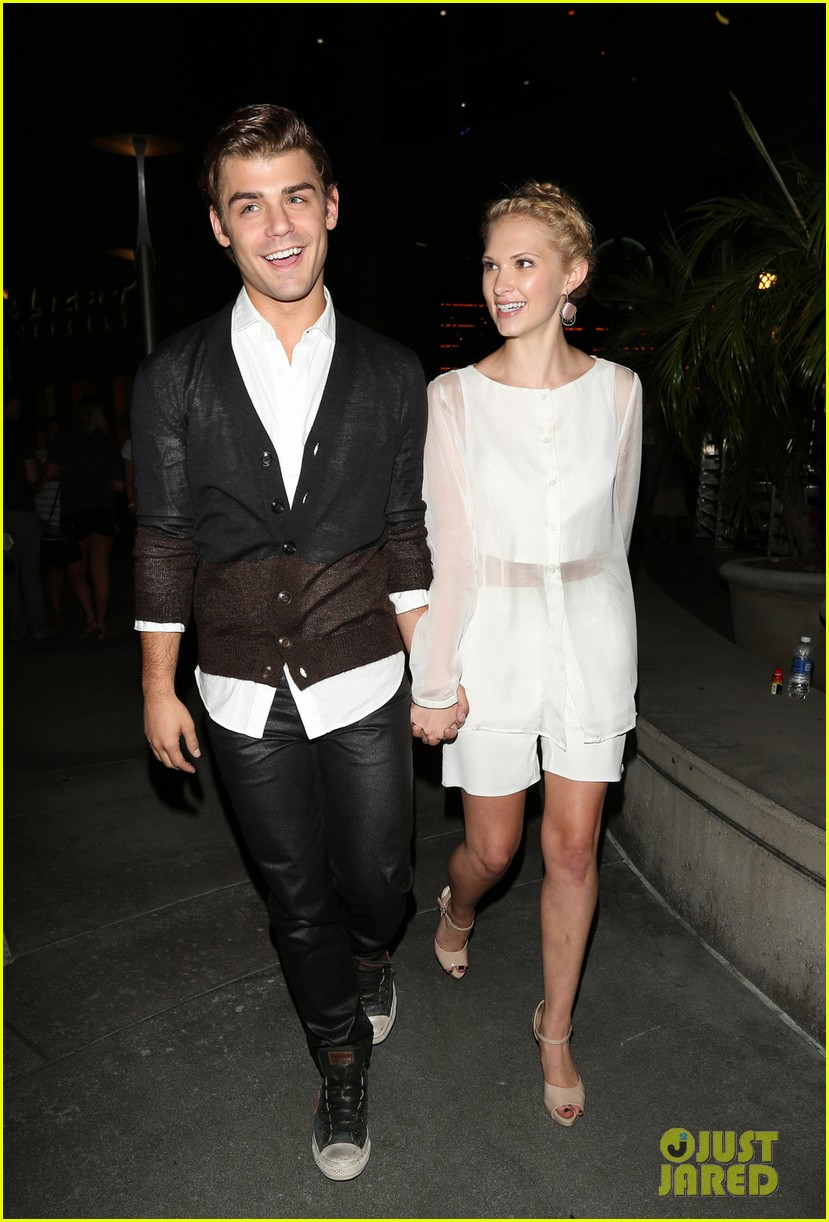 garrett clayton claudia lee chateau marmont after kick ass 2 screening 04