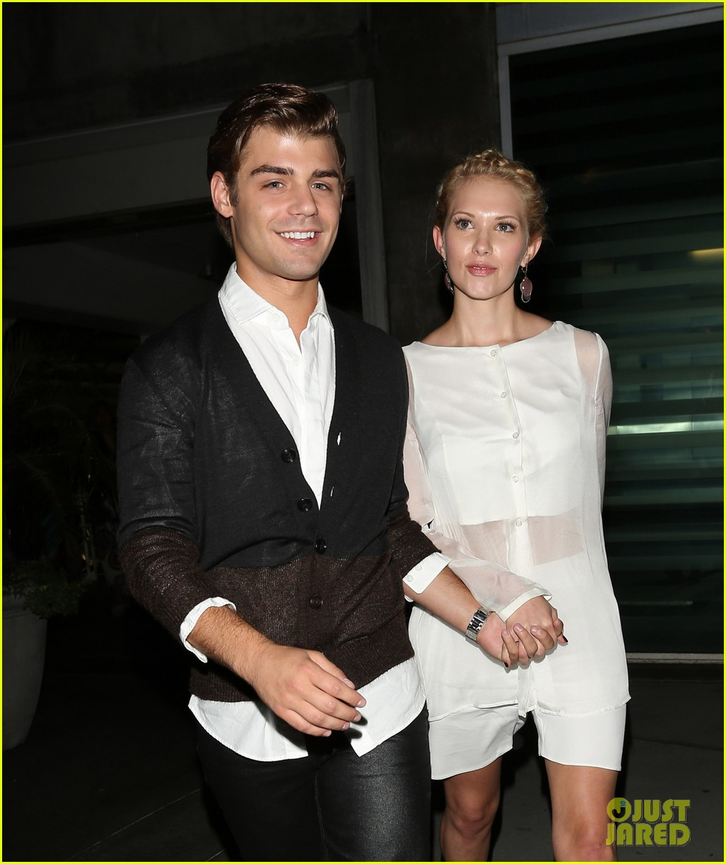 garrett clayton claudia lee chateau marmont after kick ass 2 screening 06