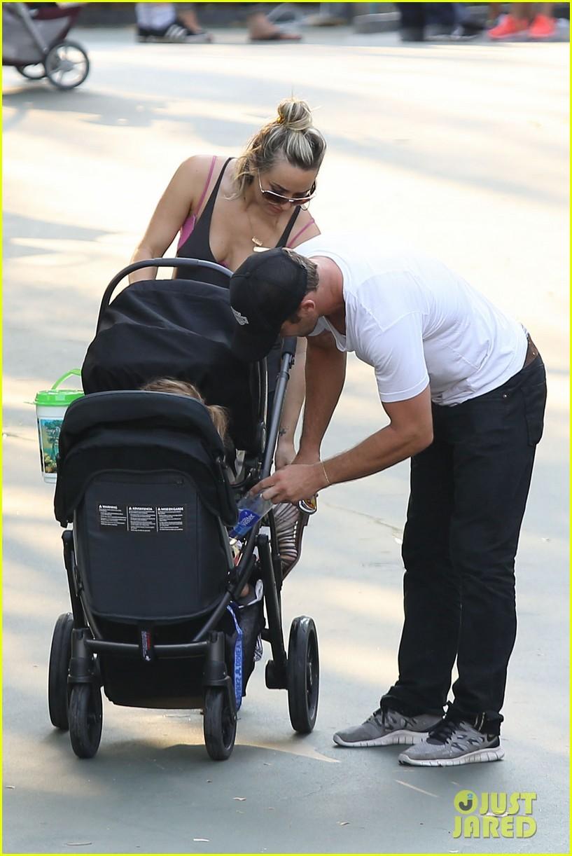 cam gigandet debuts baby rekker on family disney trip 29