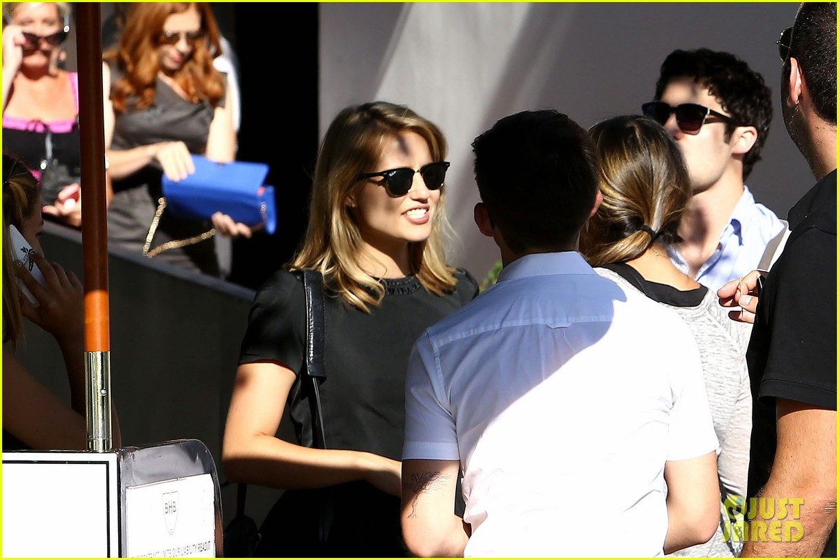 glee cast grabs lunch together after cory monteith memorial 072917065