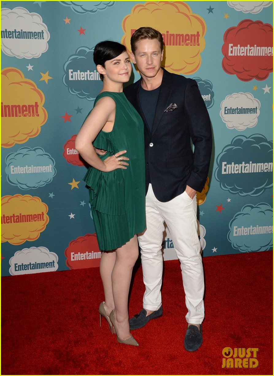 ginnifer goodwin josh dallas once at ew comic con party 01