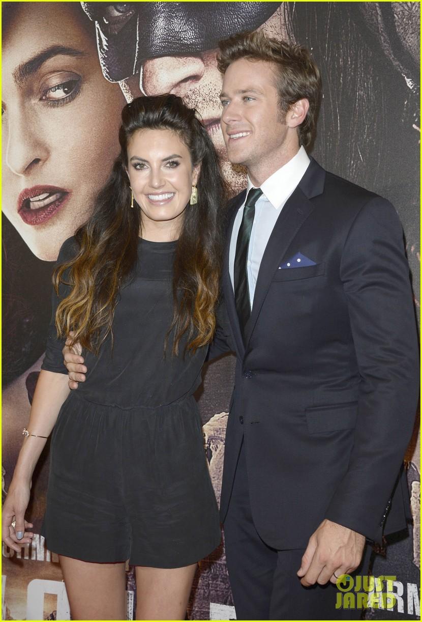Арми Хаммер с женой