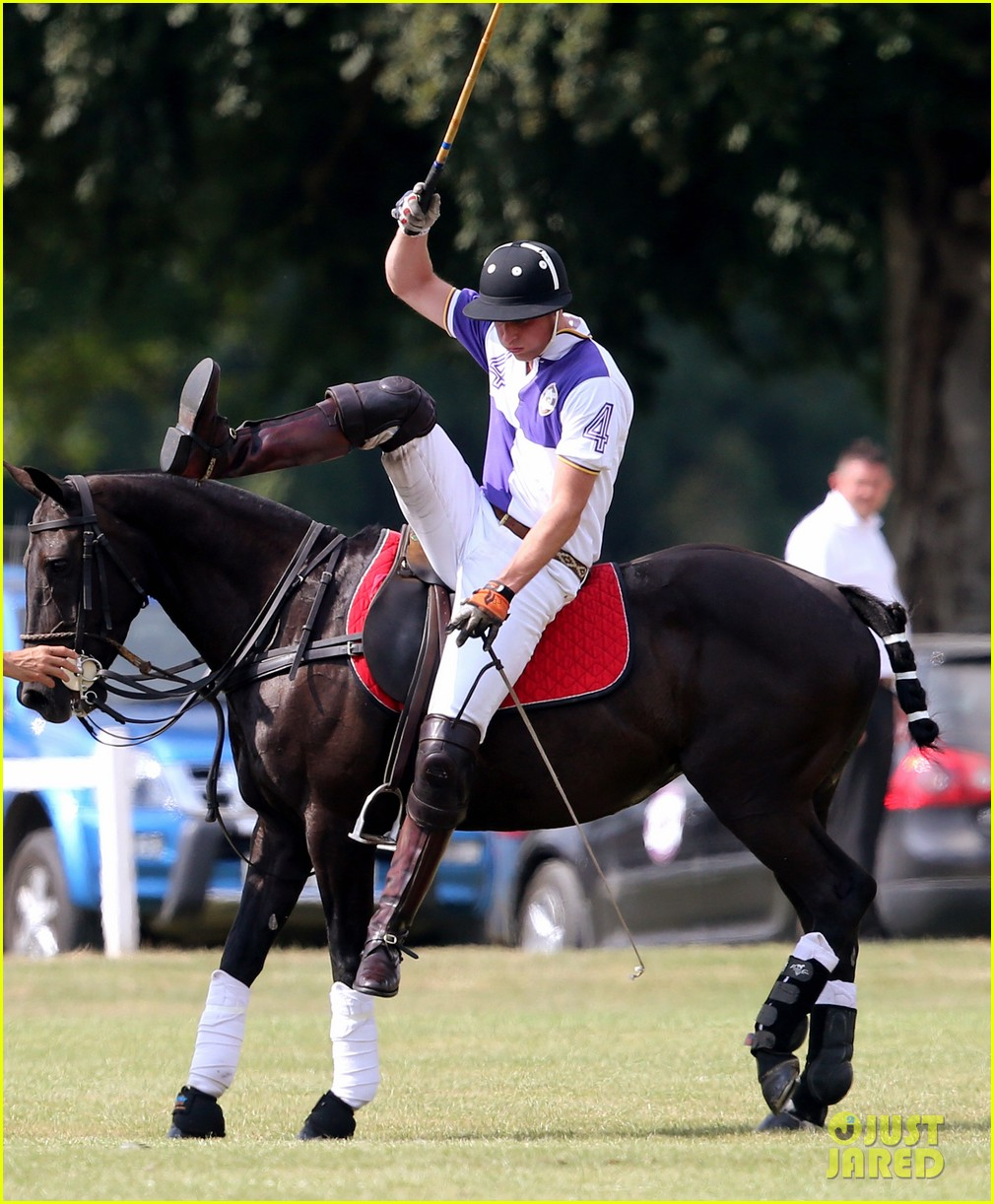 prince william harry jerudong trophy charity polo match 03
