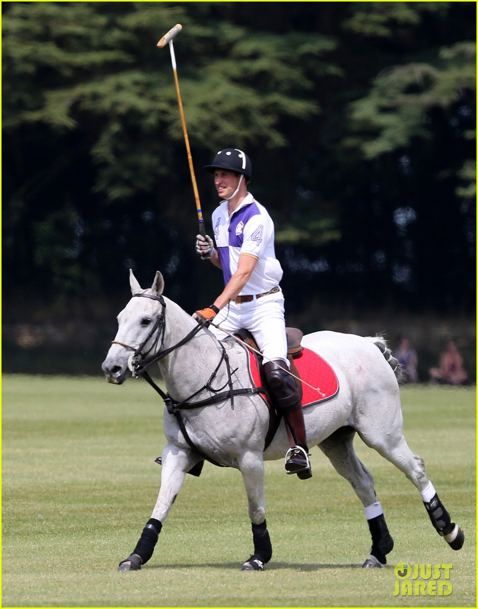 prince william harry jerudong trophy charity polo match 07