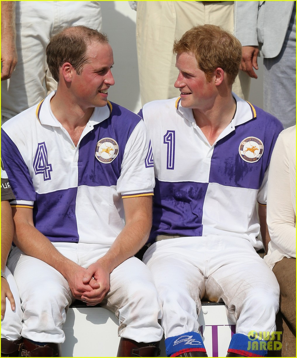prince william harry jerudong trophy charity polo match 18