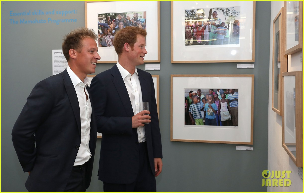 prince harry talks prince george his royal baby nephew 172916912