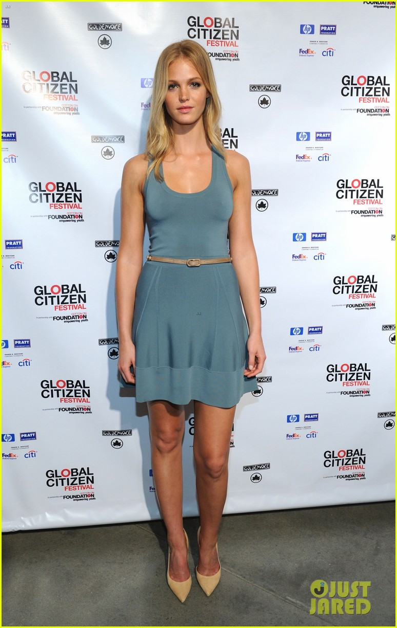 erin heatherton global citizen festival press conference 2013 04