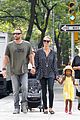heidi klum martin kirsten spider man on broadway with the kids 20