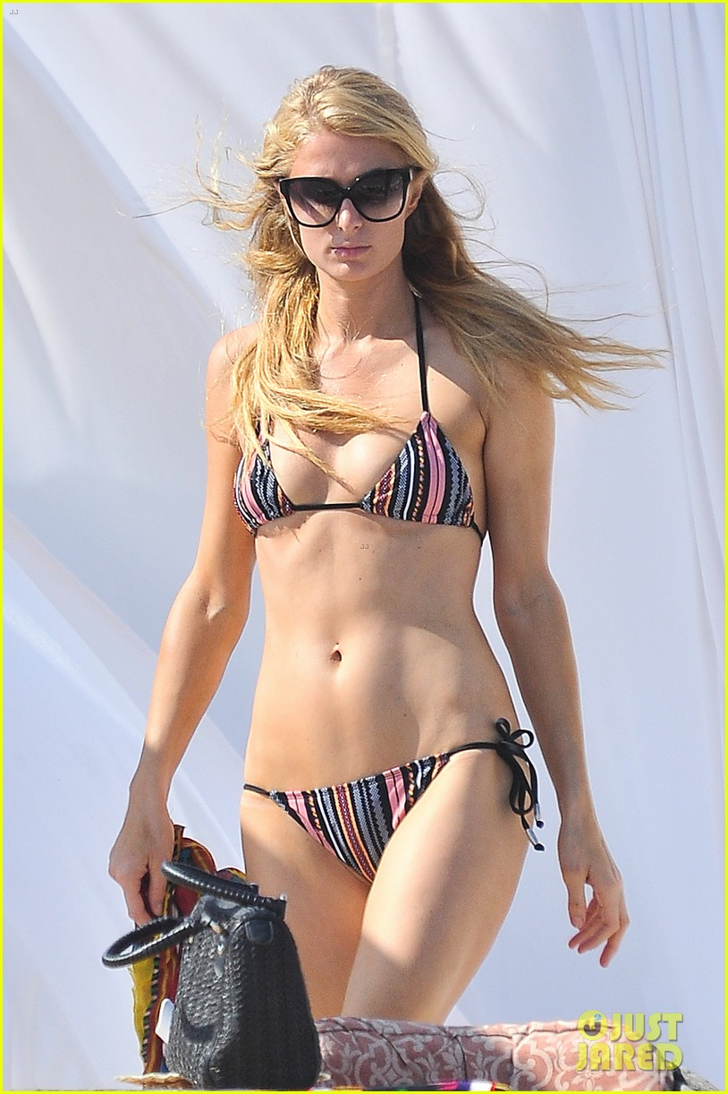 paris hilton malibu bikini babe after lunch with river viiperi 04