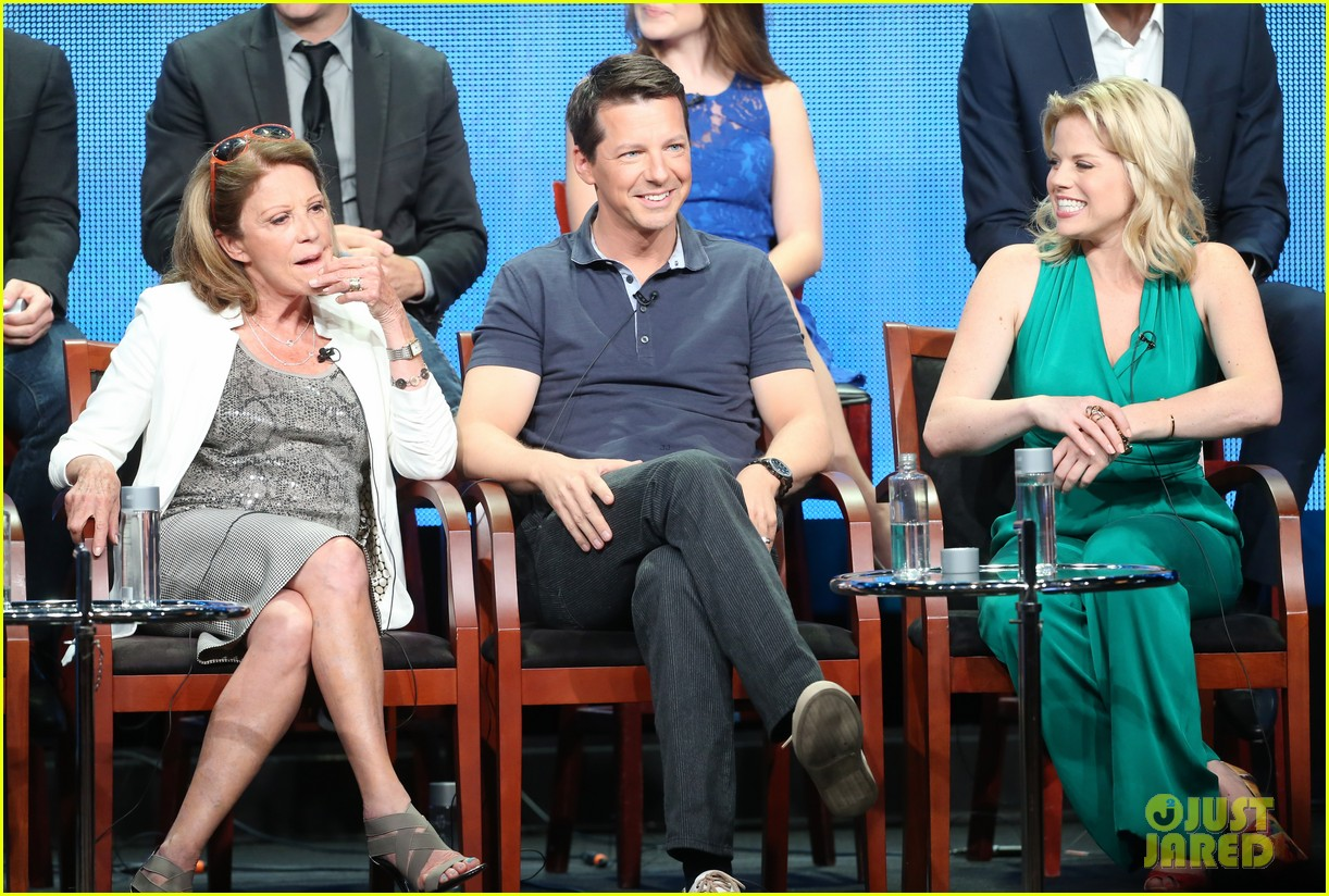 megan hilty sean hayes nbc summer tca panel 01