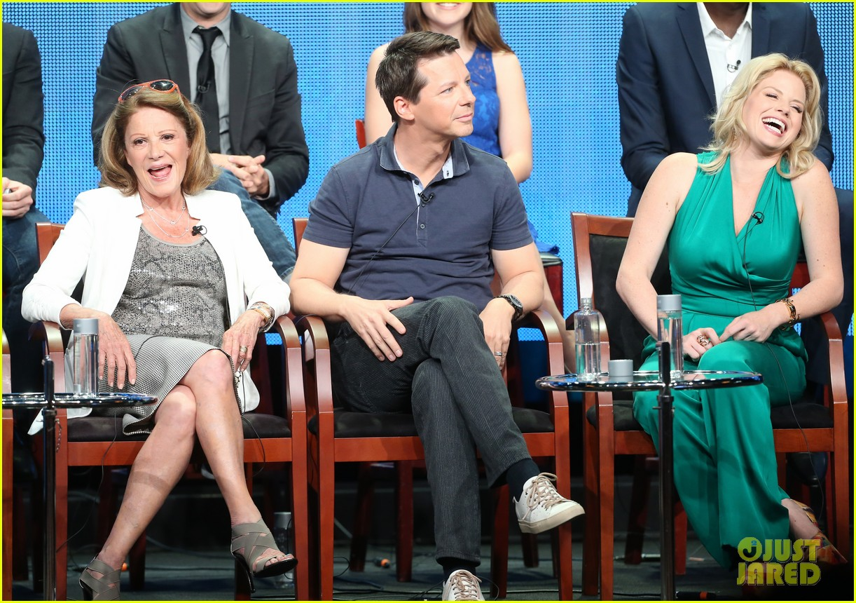 megan hilty sean hayes nbc summer tca panel 16