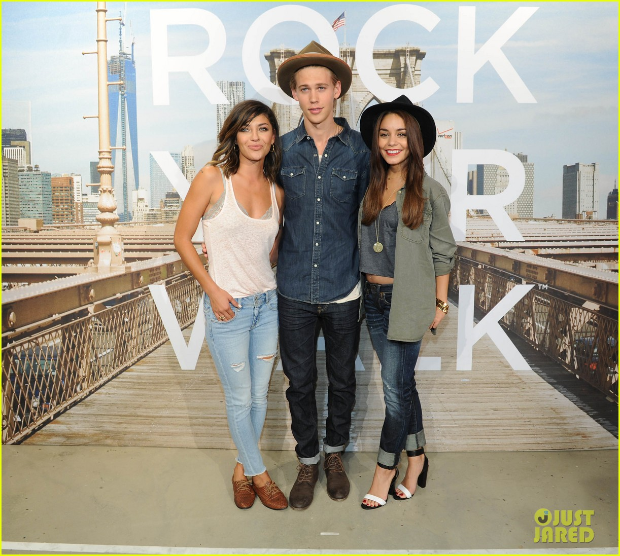 vanessa hudgens ae rock your walk launch austin butler 222920899