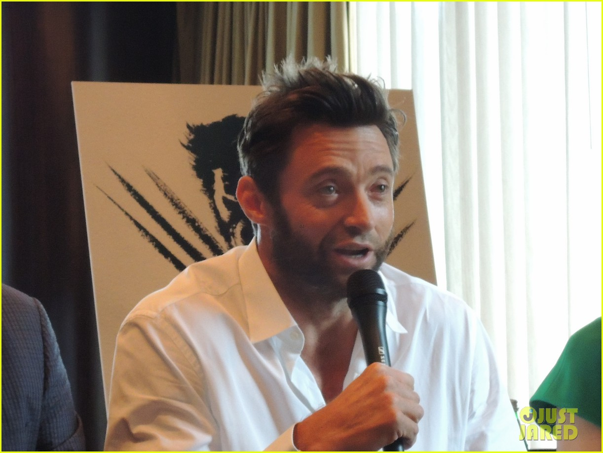 hugh jackman the wolverine press conference in nyc 042908815