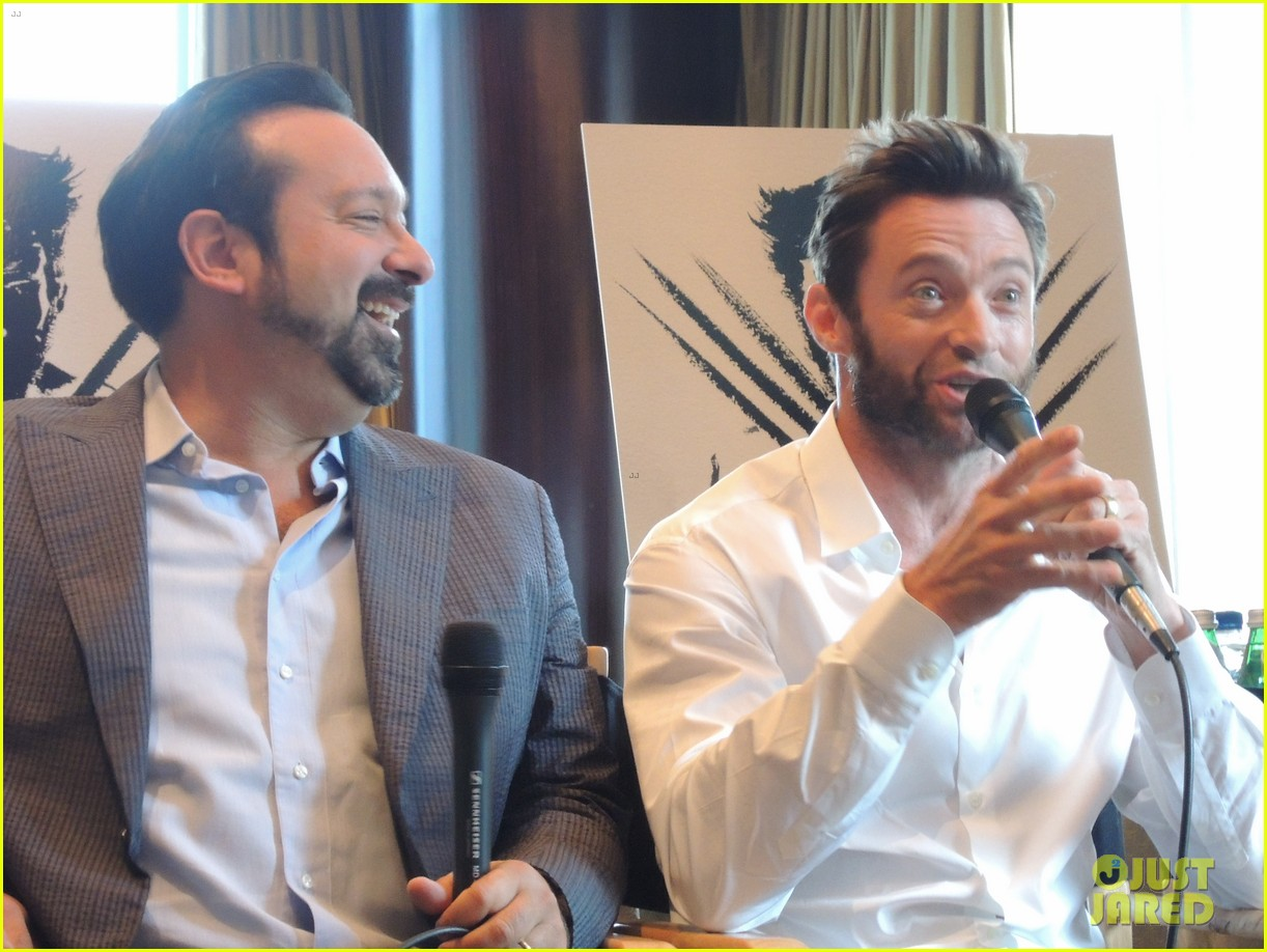 hugh jackman the wolverine press conference in nyc 12