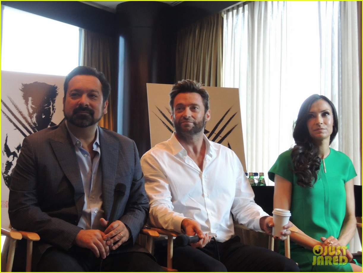hugh jackman the wolverine press conference in nyc 142908825