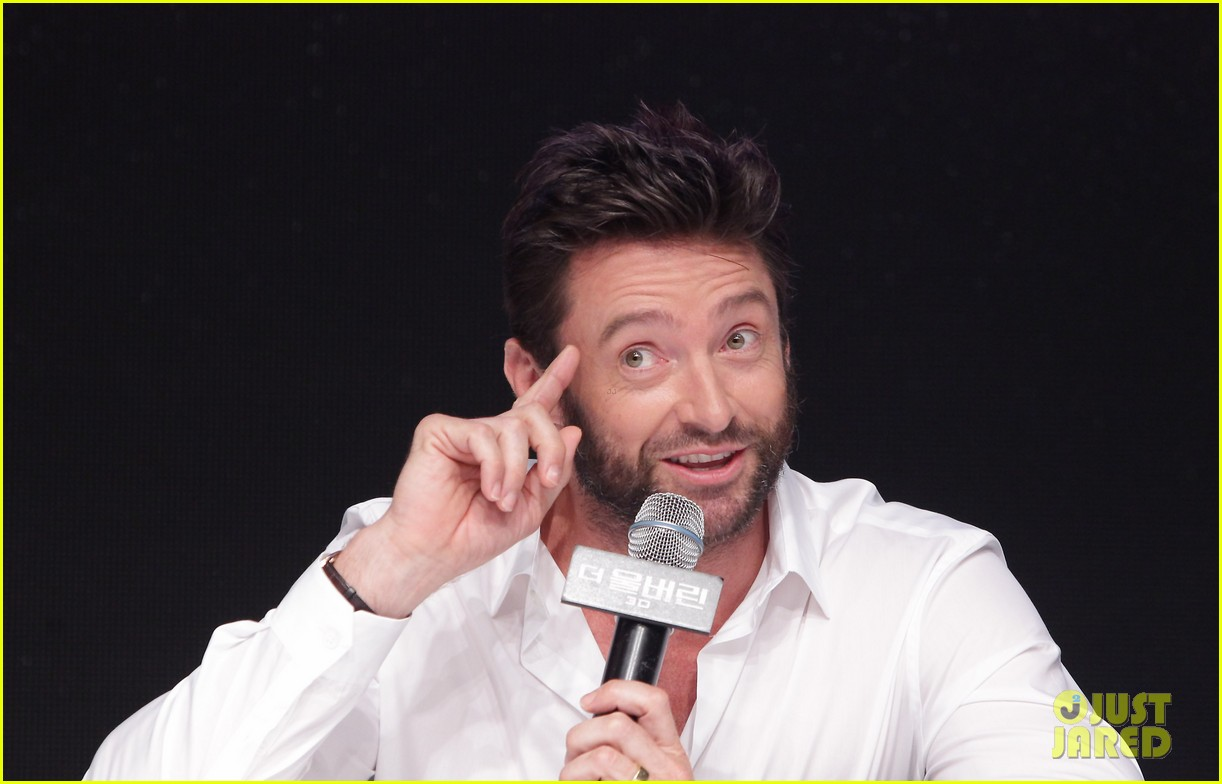 hugh jackman wolverine press conference in seoul 072909665