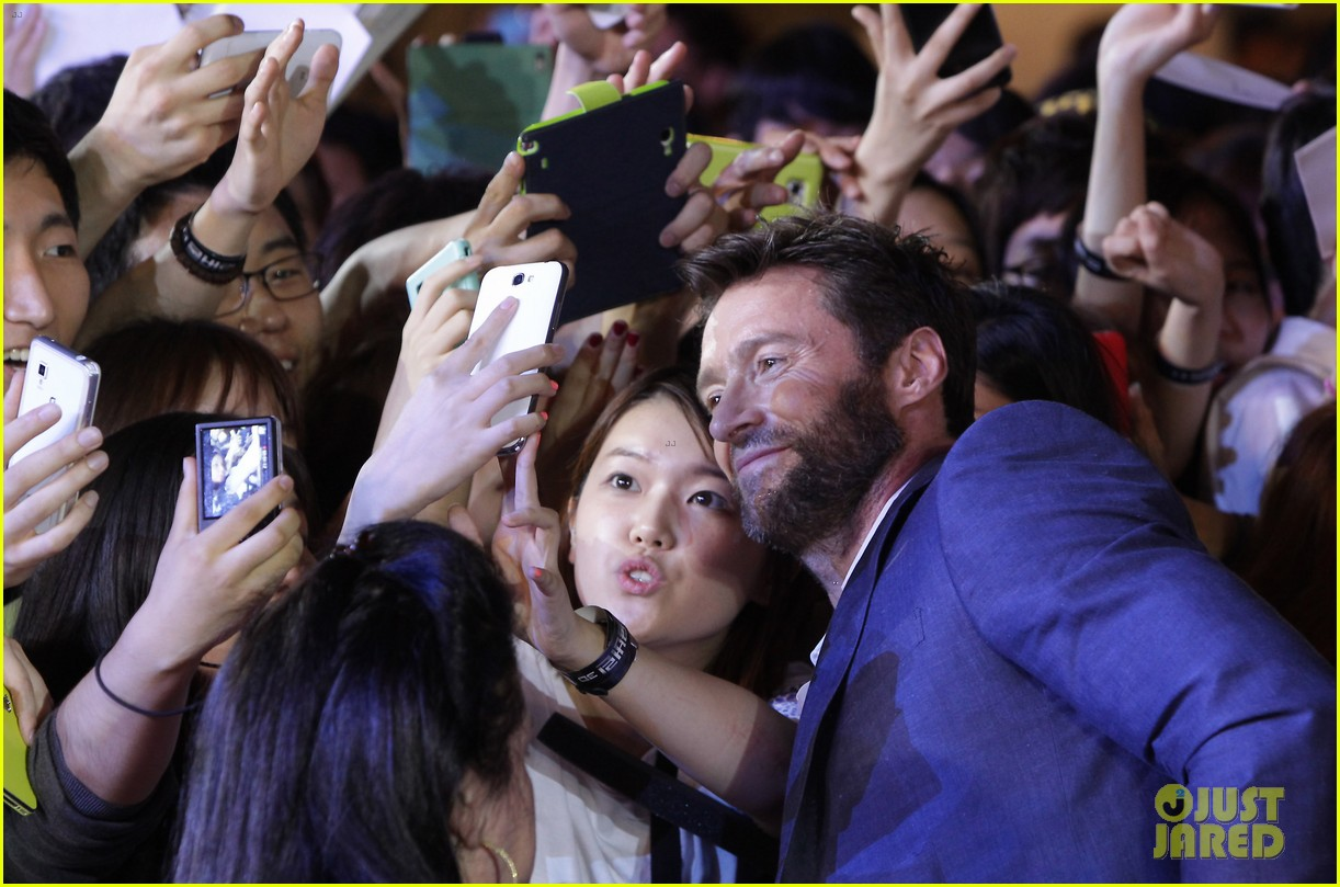 hugh jackman the wolverine south korea premiere 13