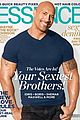 dwayne the rock johnson covers essence august 2013