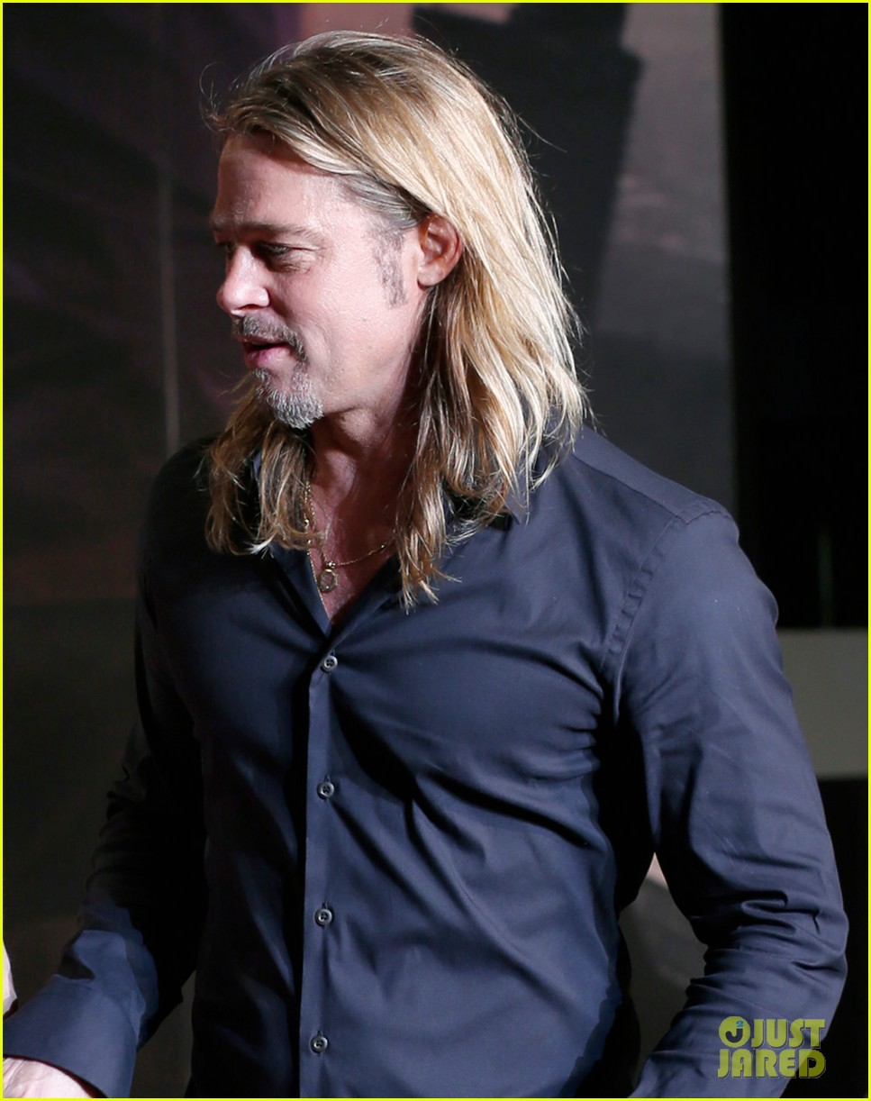 Brad Pitt 2013 World War z Brad Pitt World War z