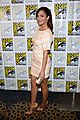 minka kelly michael ealy almost human at comic con 07