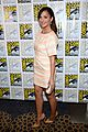 minka kelly michael ealy almost human at comic con 12