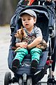 miranda kerr central park morning with flynn frankie 07