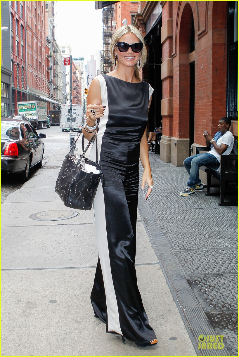 heidi klum trend in for project runway 18