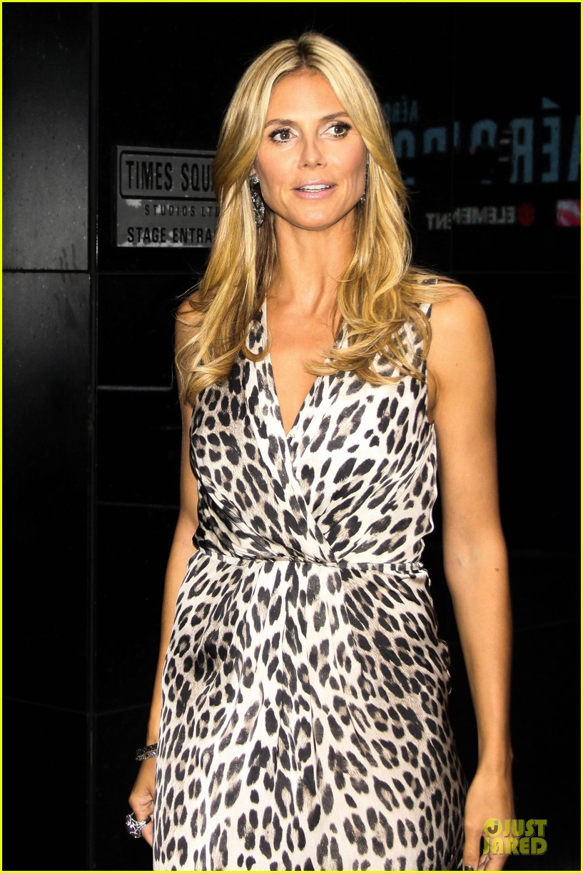 heidi klum trend in for project runway 37