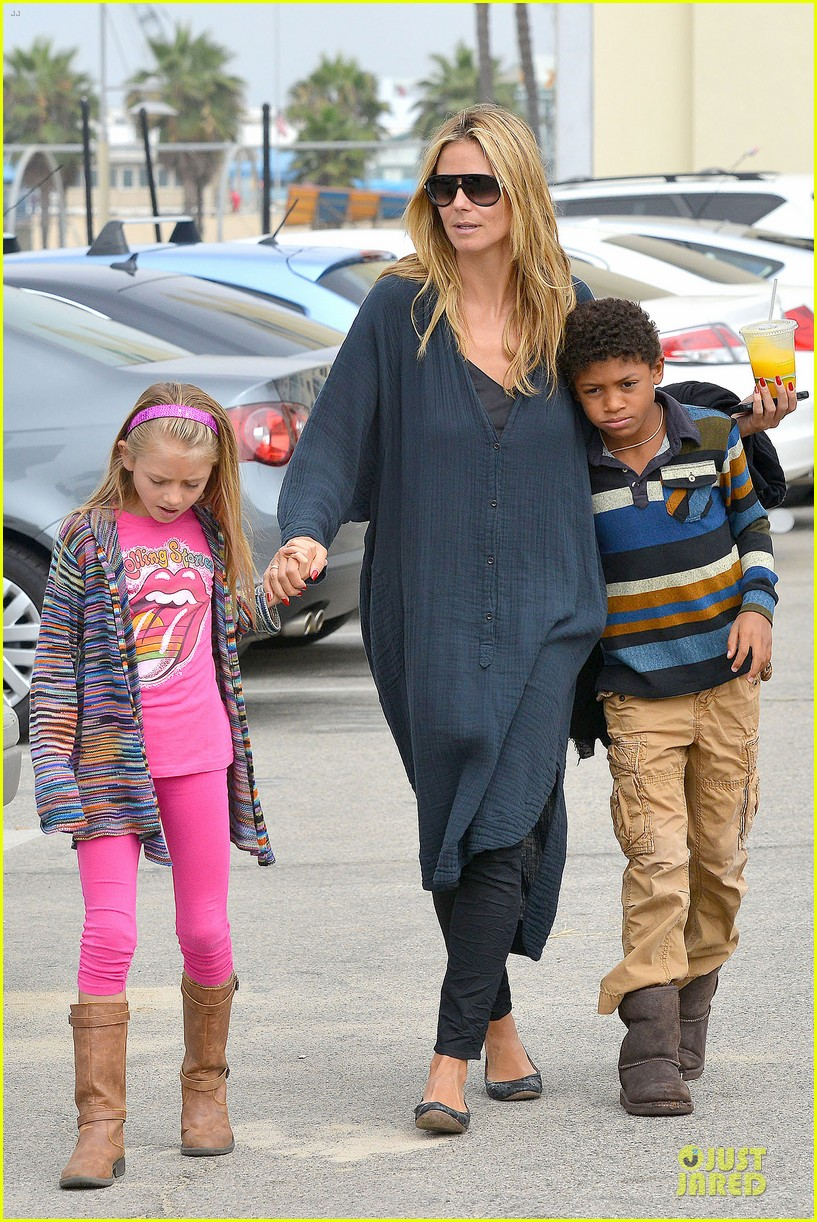 heidi klum martin kirsten venice beach bonding after nyc departure 012909043