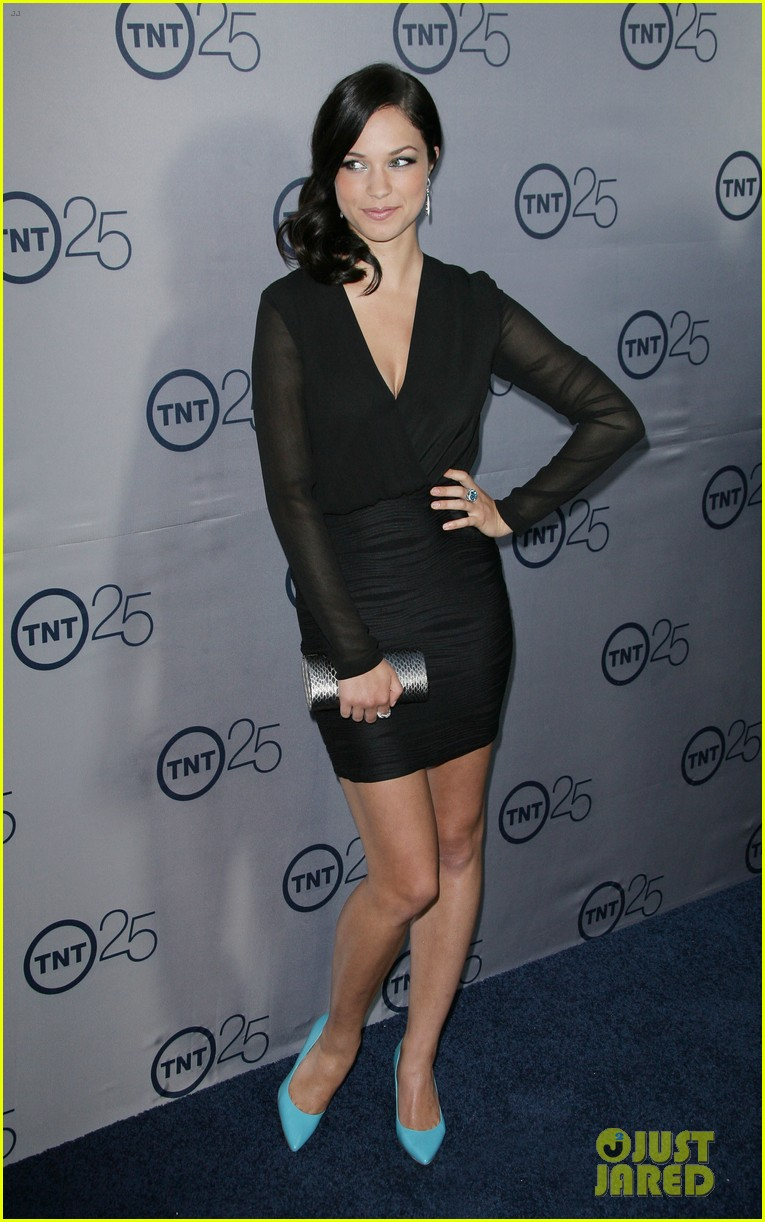alexis knapp sasha alexander tnt's 25th anniversary party 092916537