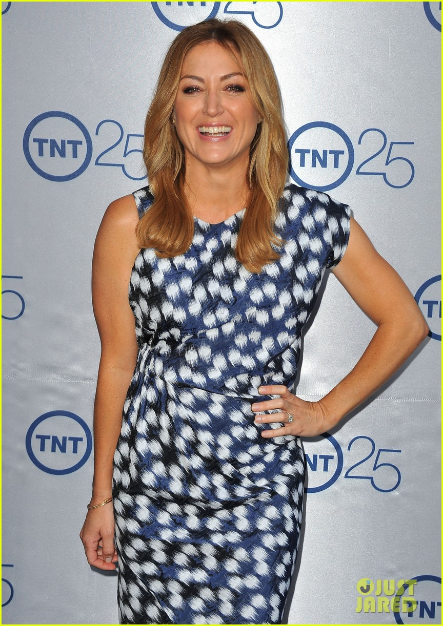 alexis knapp sasha alexander tnt's 25th anniversary party 16