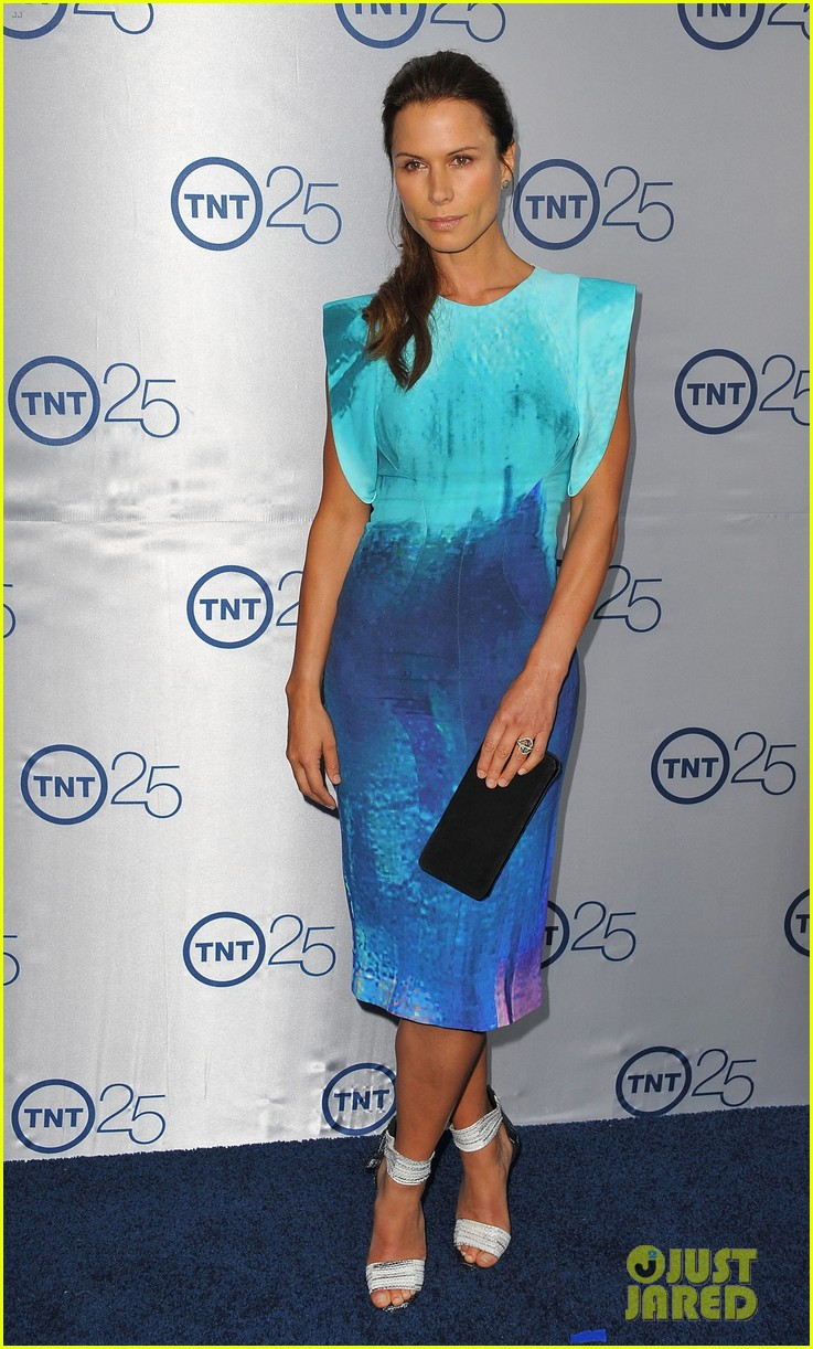 alexis knapp sasha alexander tnt's 25th anniversary party 182916546