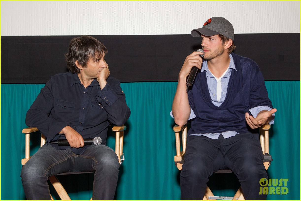 ashton kutcher jobs qa with director joshua michael stern 08