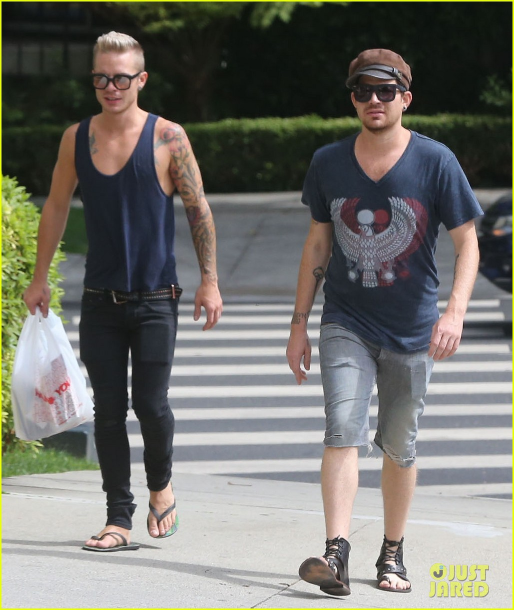 adam lambert steps out with ex sauli koskinen after cory monteith condolence 10